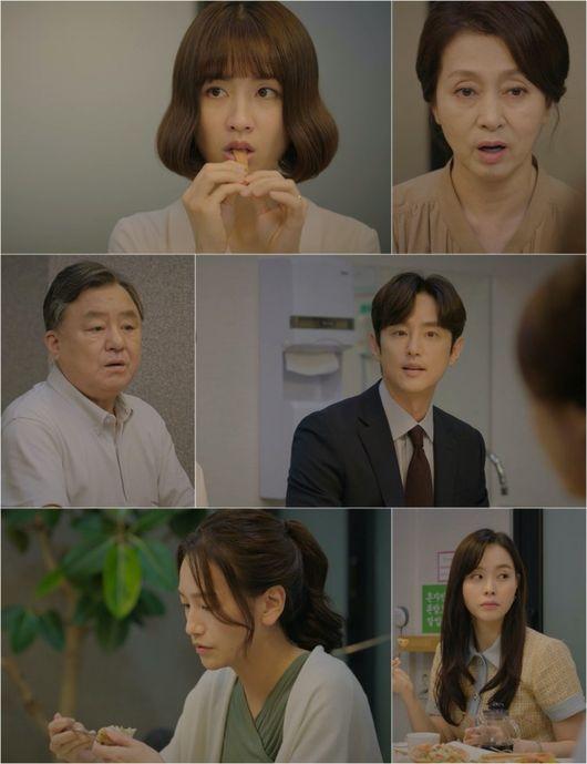 Daughter In Law Saida Daughter In Law Baek Eun Hye Appears Park Ha Sun X Kwon Yul S Super Tension