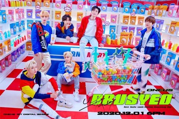 1일(화), 원어스(ONEUS) 디지털 싱글 '뿌셔' 발매   인스티즈