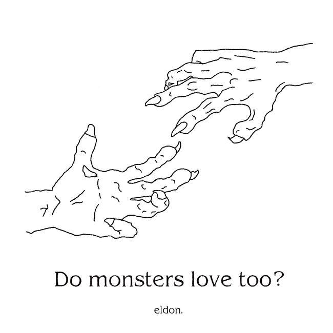 21일(목), 엘던 미니 앨범 1집 'Do monsters love too?' 발매 | 인스티즈