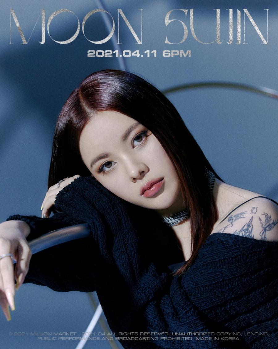 11일(일), 문수진(MOON SUJIN) 싱글 앨범 '저 달 (Feat. 태일 of NCT)' 발매 | 인스티즈