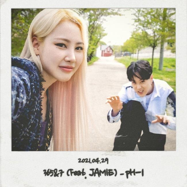 29일(목), pH-1 싱글 앨범 '365&7 (Feat. JAMIE)' 발매 | 인스티즈