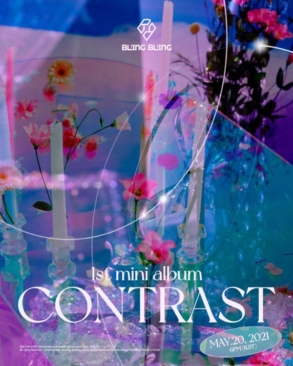 20일(목), 블링블링(Bling Bling) 미니 앨범 1집 'CONTRAST (타이틀 곡: Oh MAMA)' 발매 | 인스티즈