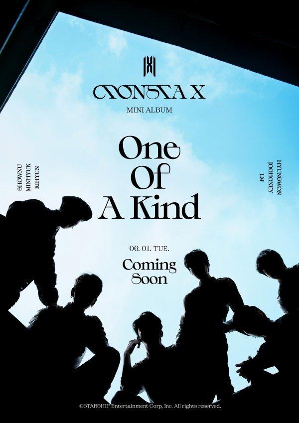 1일(화), 몬스타엑스(MONSTA X) 미니 앨범 9집 'One Of A Kind(원 오브 어 카인드)' 발매 | 인스티즈