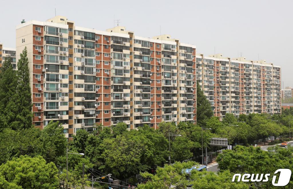 ( 강남구 압구정 현대아파트 모습.  2021.5.7/뉴스1