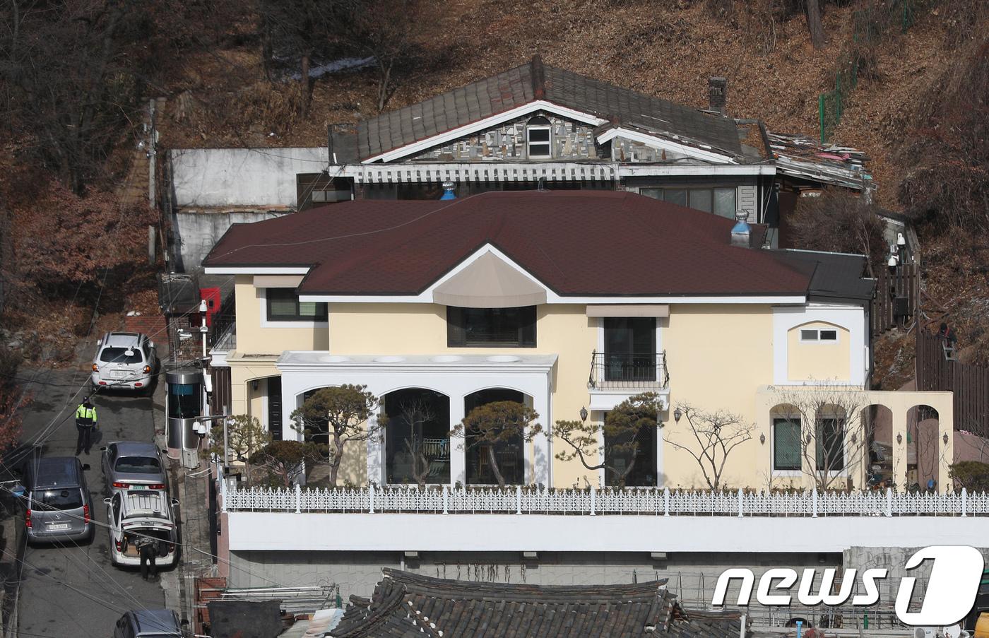 서울 서초구 내곡동 박근혜 전 대통령의 자택. (뉴스1 DB) 2018.1.12/뉴스1
