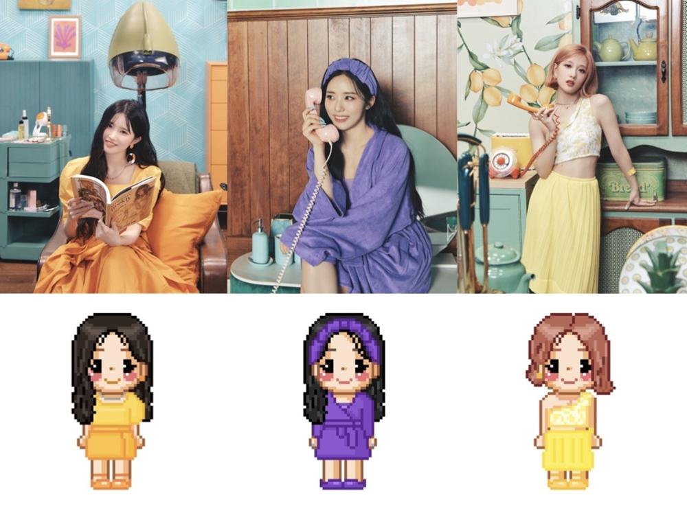 8일(수), 프로미스나인+싸이월드 리메이크 앨범 '미녀는 괴로워' OST '별' 발매 | 인스티즈