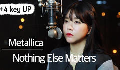 (+4 key up) Nothing Else Matters - Metallica cover