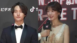 Red Carpet with Yang Se Jong(양세종) & Jung So Min(정소민)│2018 MAMA FANS' CHOICE in JAPAN