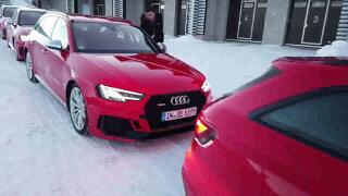[Audi Ice Driving Experience in Finland]