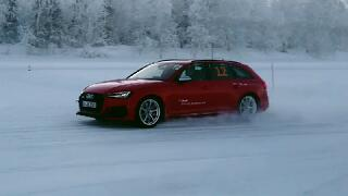 [Audi Ice Drift Class in Finland]