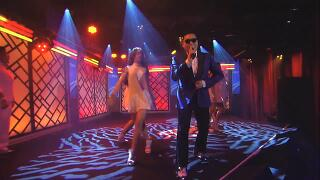 "[12/10/03 ABC Jimmy Kimmel Live!] PSY Performs ""Gangnam Style"""