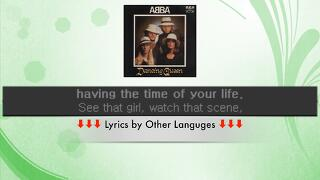 ABBA - Dancing Queen Lyrics - MTC English - English Version