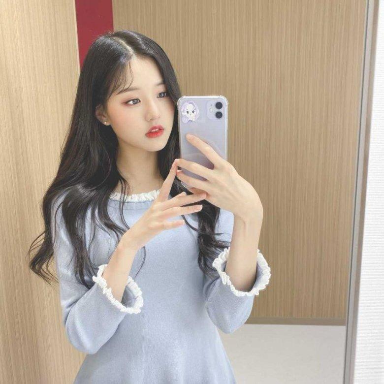 아이즈원 장원영 셀카