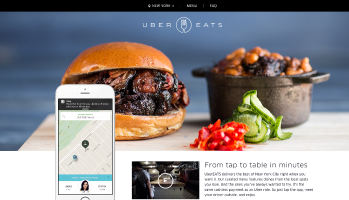 uber eats how to use