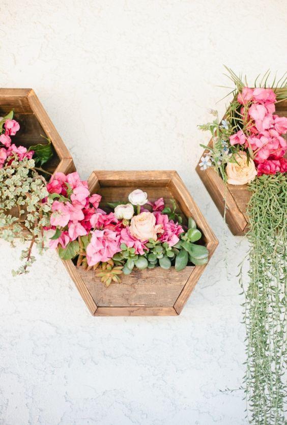 식물을 장식하는 벽 인테리어 아이디어 5가지