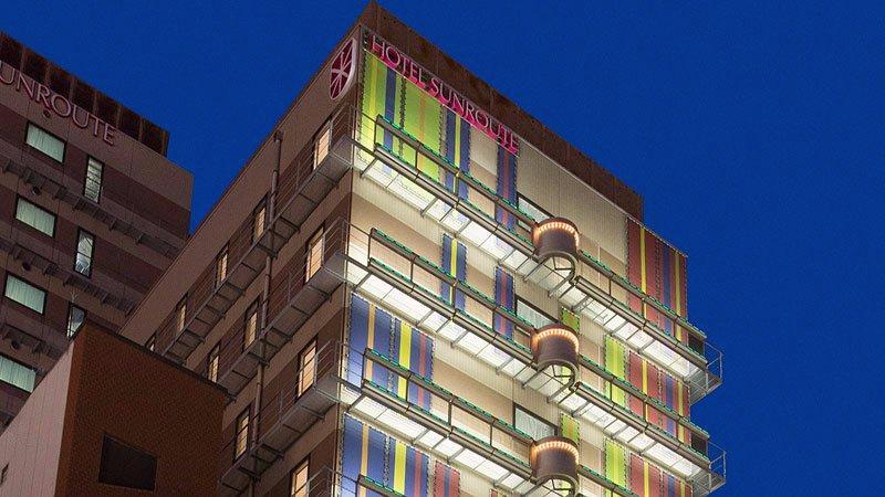 오사카 도톤보리 호텔 선루트 오사카 남바 건물