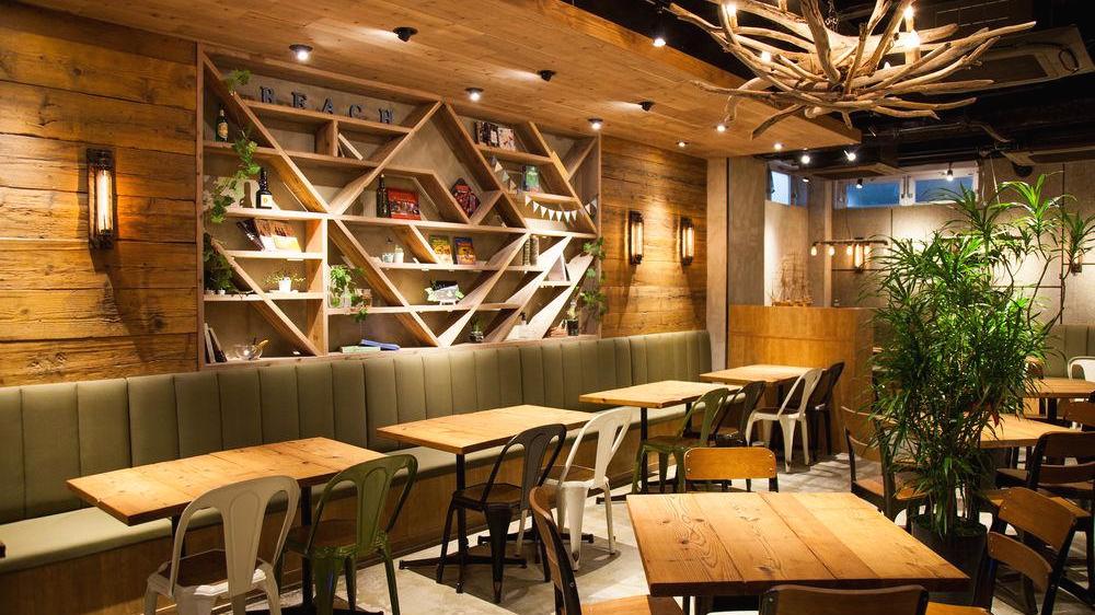 오사카 게스트하우스 아크 호스텔의 카페 다이닝
