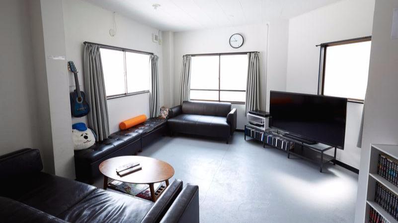 오사카 게스트하우스 다이코쿠 호스텔 공용공간