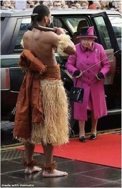 ???:뉴질랜드는 언제나 마오리의 것이다, 여왕.