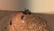 화성 탐사로봇(Rover) '큐리오시티(Curiosity)'가 2015년 8월 보내온 화성 사진