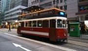 Tram number 68 is used for sightseeing tour in Hong Kong.