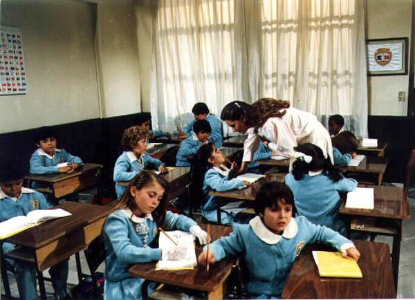 천사들의 합창 교실 풍경