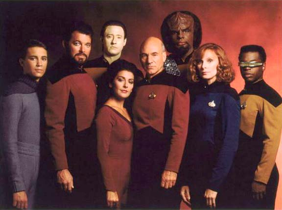 Star Trek: Next Generation Crew Members
