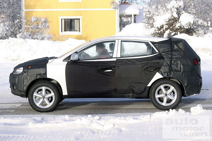 Hyundai 2010 Tucson (LM) spyshots