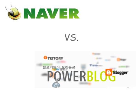 NAVER vs Blog Services