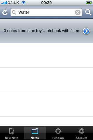 iPhone Apps - Evernote