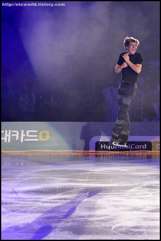 '현대카드슈퍼매치 Ⅶ - '08 Superstars on Ice'  2부에서 연기를 펼치는 제프리 버틀 (Jeffrey Buttle).