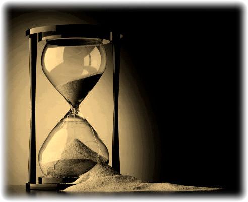 일만시간의 연습, 모래 시계