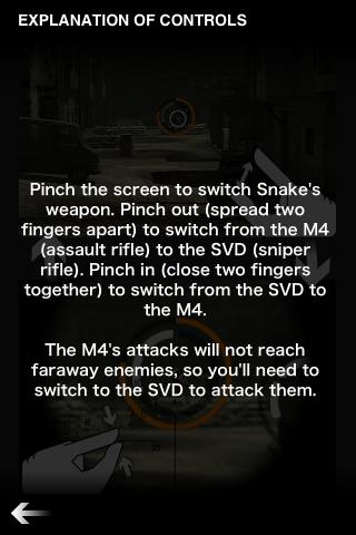 UI Design of <Metal Gear Solid>: Zooming & Sniping