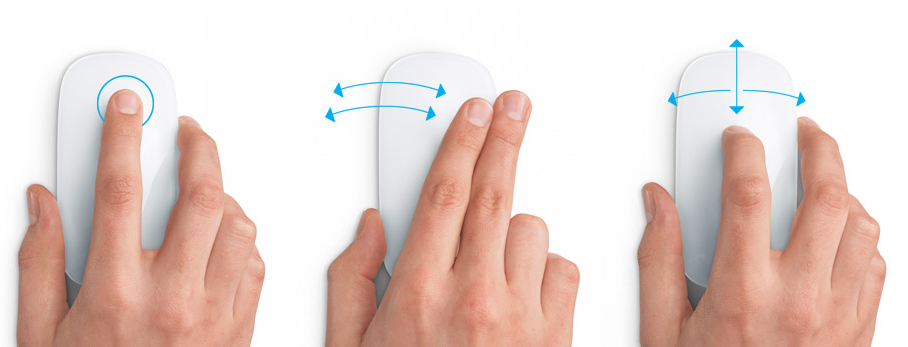 Apple Magic Mouse - Gestures