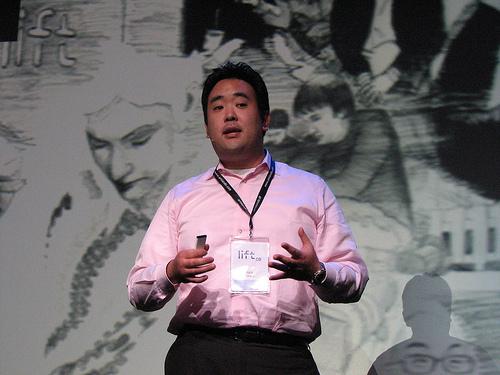 Mozilla Japan의 Gen Kanai.