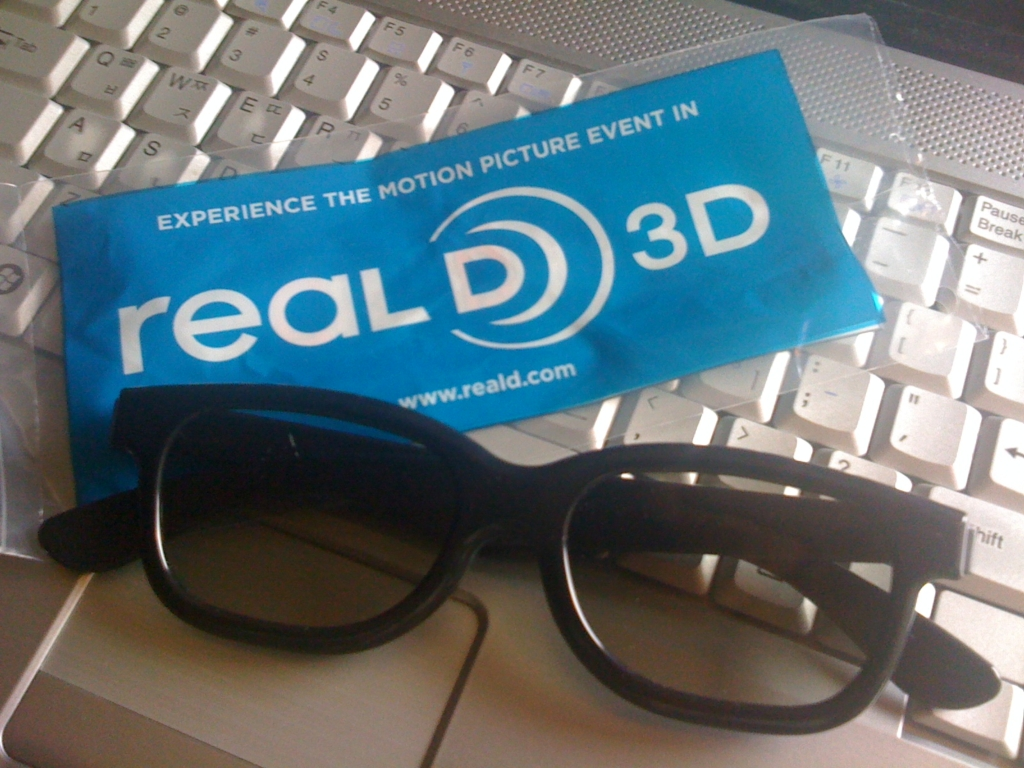 3D Polarization Glass for Real-D Technology