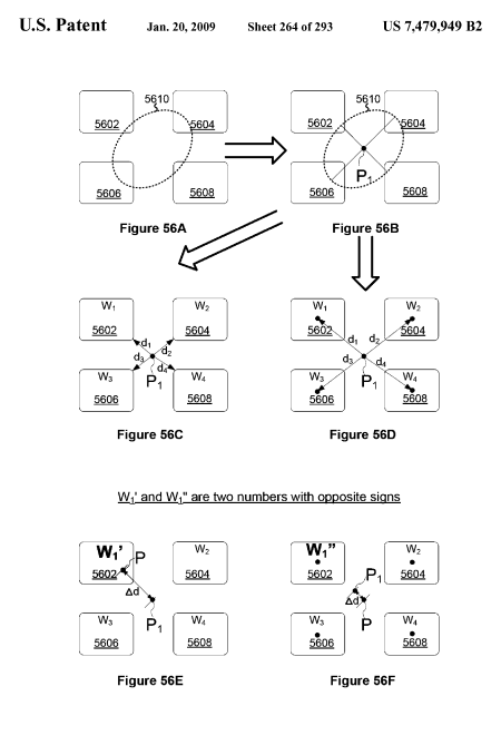 Apple iPhone Touch UI Patent: Better Touch Input