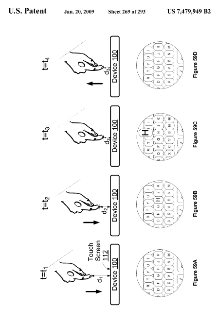 Apple iPhone Touch UI Patent: Deep Touch