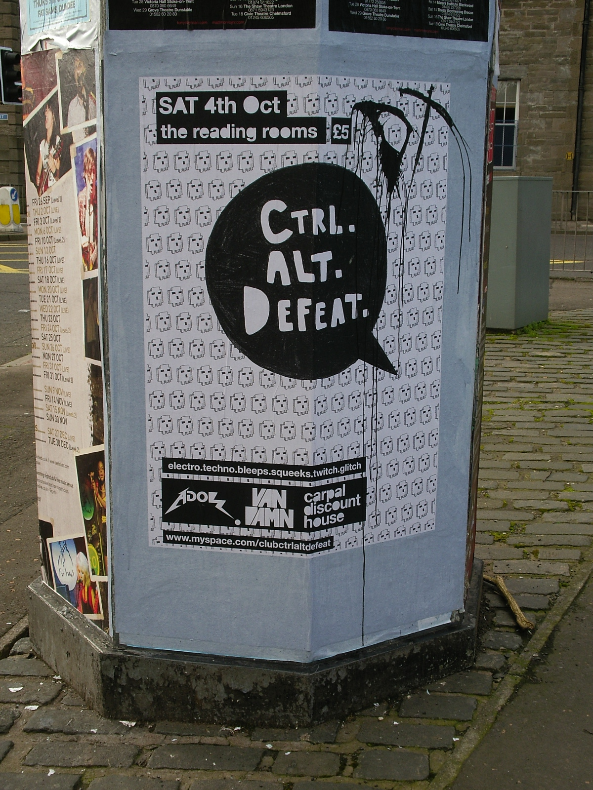 Band named Ctrl-Alt-Defeat