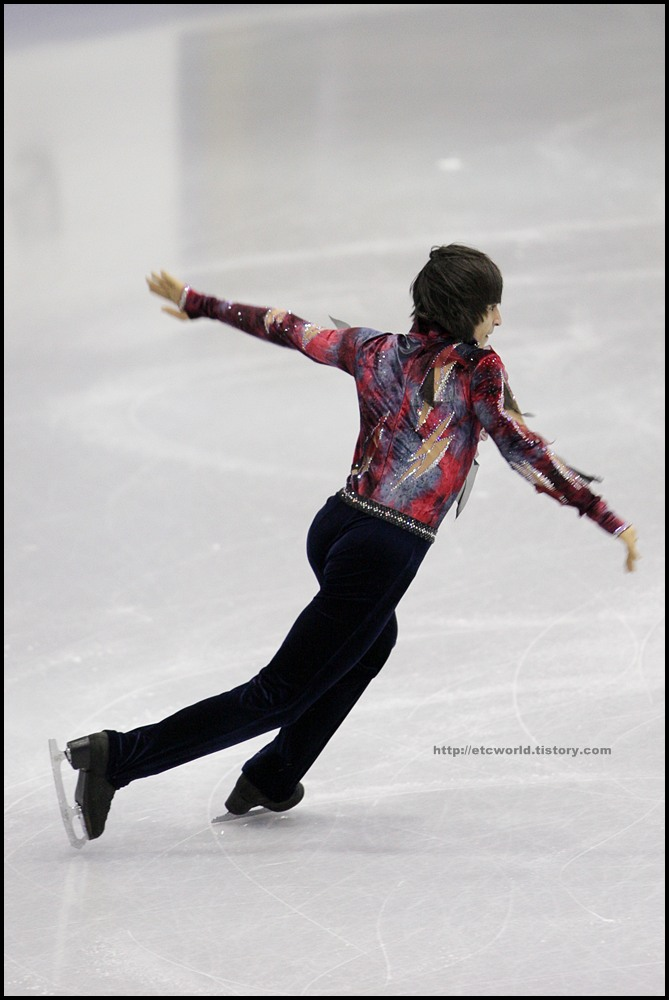 SBS ISU Grand Prix of Figure Skating Final Goyang Korea 2008/2009 2008/2009 SBS ISU 고양 피겨스케이팅 그랑프리 파이널 대회 Junior Men - Short Program Ivan BARIEV