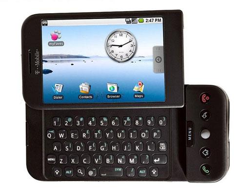 안드로이드(Android)기반의 티모바일(T-mobile) G1