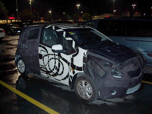 2011 chevy beat spied