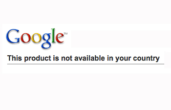 Google not available
