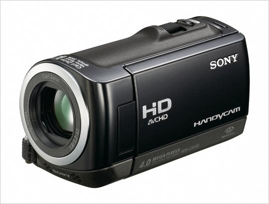 HDR-CX100 소니 핸디캠 신제품, 이미지로 미리 만나 봅니다
