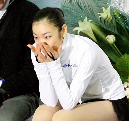 김연아의 눈물
