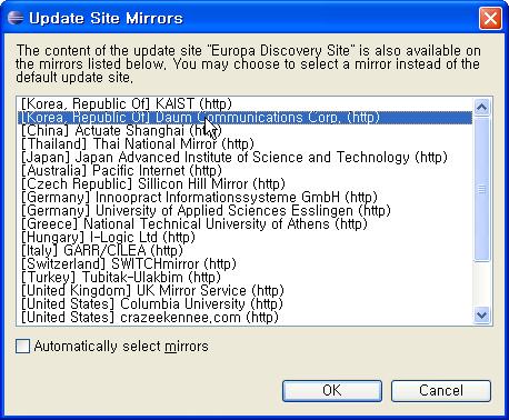 Update Site Mirrors
