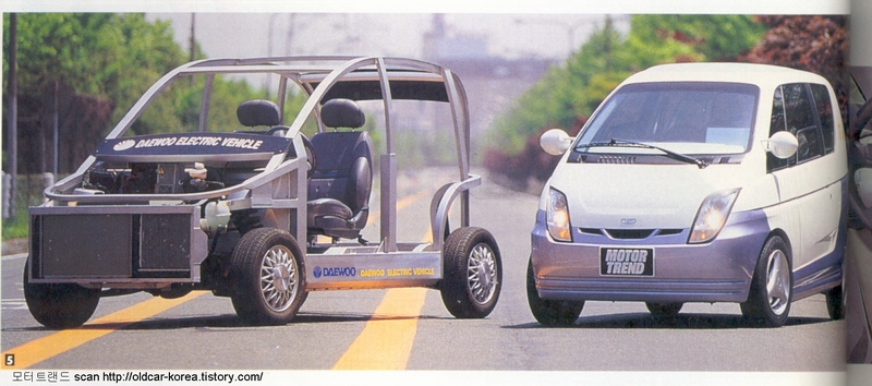 Daewoo DEV-3 Concept