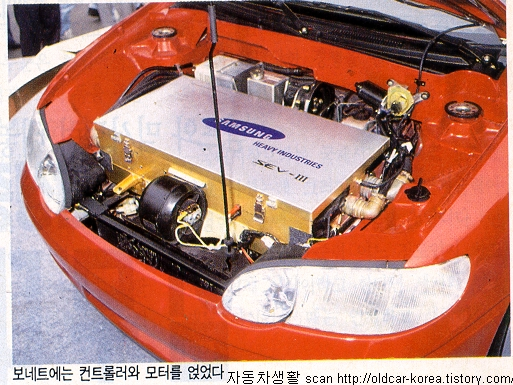 Samsung SEV-3 Electric vehicle