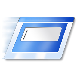 Windows Vista RUN icon