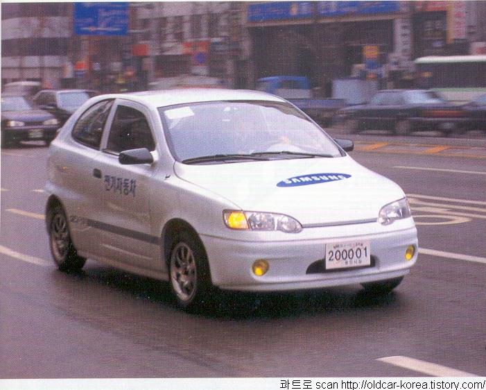 Samsung SEV-4 Electric vehicle